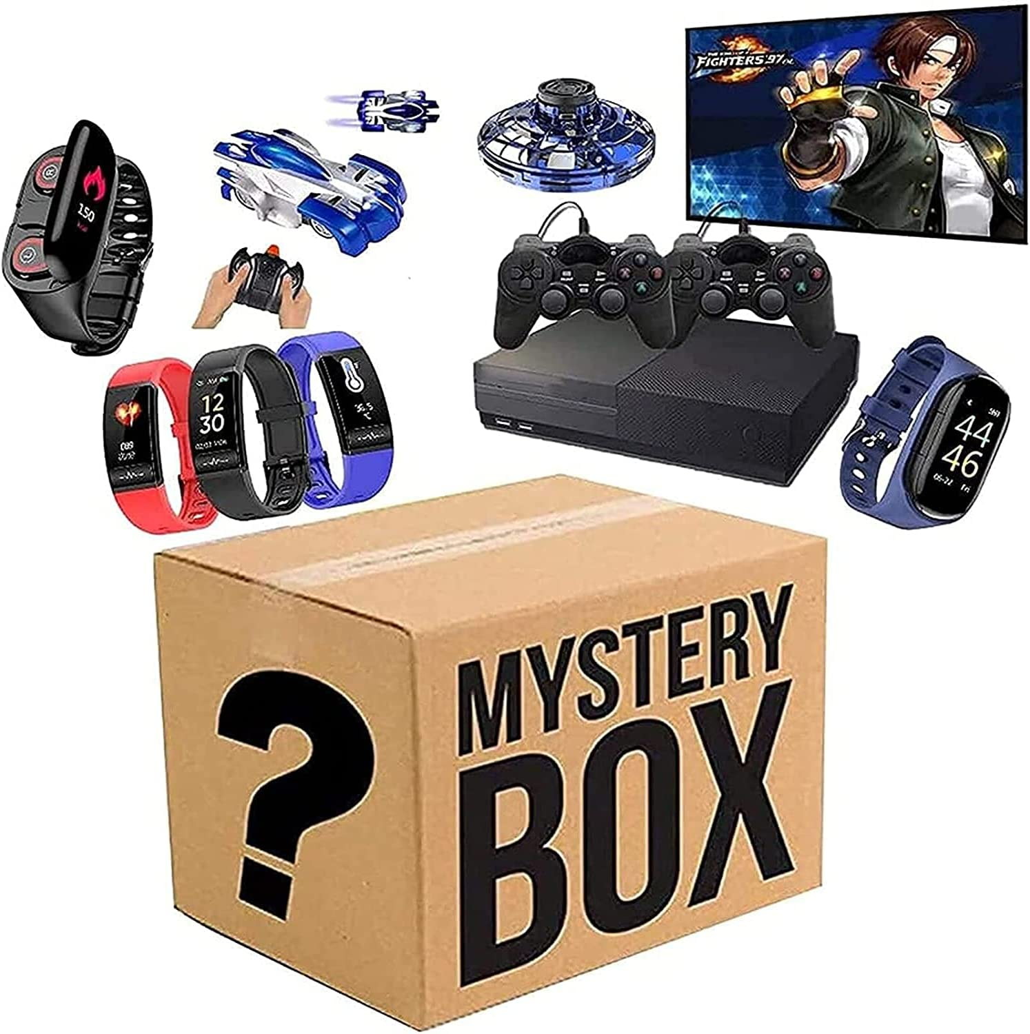 Mystery Box Electronic Lucky Super Boxes Blind Direct stock Special Campaign discount Coste