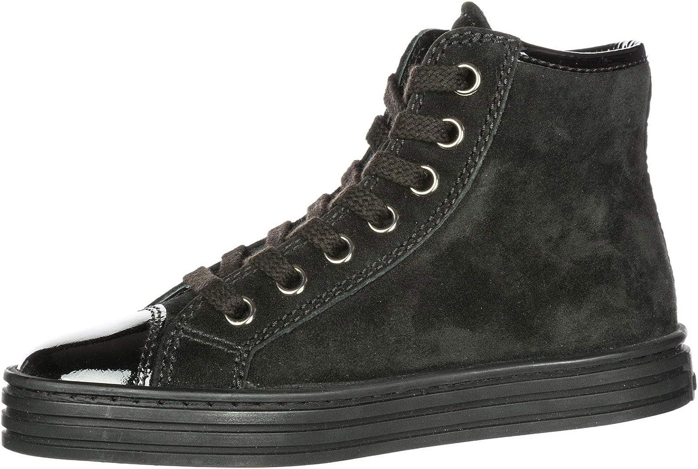 Hogan Sneakers Alte r141 Bambino Nero : Amazon.it: Moda