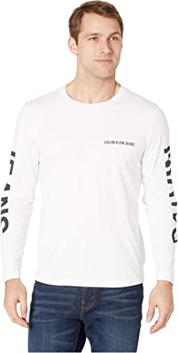 Institutional Logo Back Print Long Sleeve