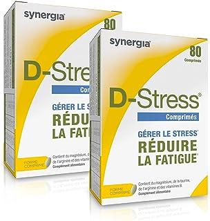 D-Stress (se ofrece +1 vitamina C) hautement Magnesio. taurina. arginina y vitaminas B altamente asimilados ➠ Origen francés ➠ Conjunto