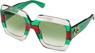 Gucci GG 0178 S- 001 MULTICOLOR/GREEN Sunglasses