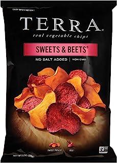 TERRA Sweets & Beets Chips, No Salt Added, 6 oz.