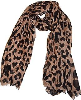 4ce7fa742374b Echarpe en mousseline de soie extra-large de luxe - Echarpes à imprimé  animal pour
