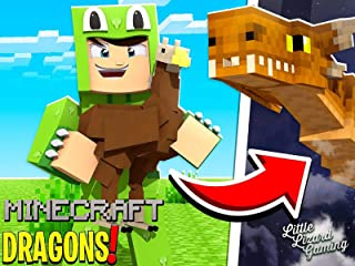 Clip: Little Lizard Gaming - Minecraft Dragons!