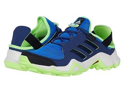 adidas Outdoor Kids Terrex Hydroterra Shandal (Little Kid/Big Kid) (Glory Blue/Black/Signal Green) Boy