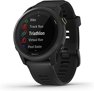 Garmin Forerunner 745, GPS Running Watch, Detailed Training Stats and On-Device Workouts, Essential Smartwatch Functions, ...