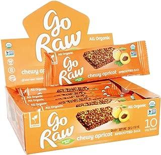 GO RAW Organic Live Flax Bar Case, 0.42 OZ
