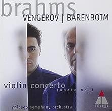 Brahms: Violin Concerto, Op. 77 / Violin Sonata No. 3, Op. 108