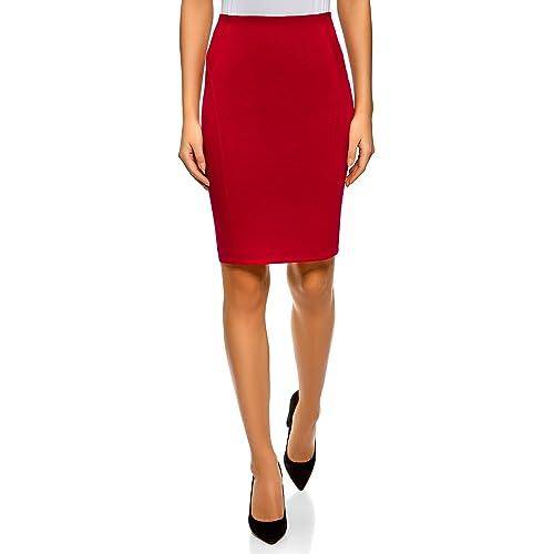 80106c70fd oodji Ultra Women's Jersey Pencil Skirt