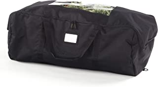 iiSPORT Durable Christmas Tree Storage Bag Large Holiday Storage Duffel Bag Made of 600D Polyester 49 Long X 20 Wide X 14 Height Black