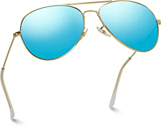 blue shades aviator