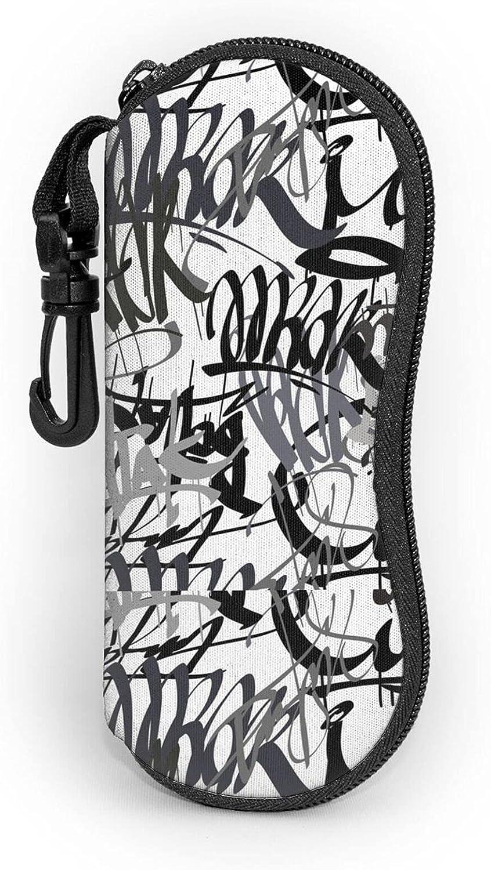 Artistic Cheap SALE Start Graffiti Over item handling ☆ Unisex Sunglasses Soft Carabiner With Por Case