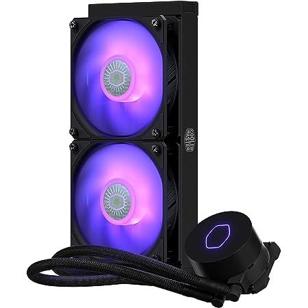 Cooler Master MasterLiquid ML240L V2 RGB 簡易水冷CPUクーラー MLW-D24M-A18PC-R2 FN1401