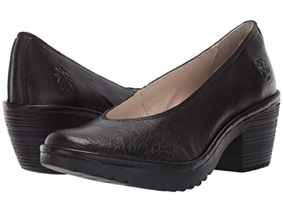 FLY LONDON WALO988FLY (Black Mousse) Women