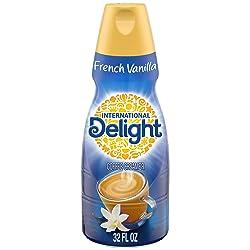 International Delight French Vanilla Coffee Creamer, Quart, 32 oz
