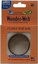 Pellon Wonder Web Fusible Tape, 5/8-Inch by 20-Yard