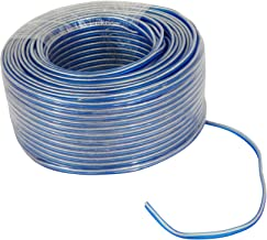 $49 » Sponsored Ad - Rockville Blue 16G250 OFC 16 Gauge 250 Foot 100% Copper Speaker Wire Car Audio
