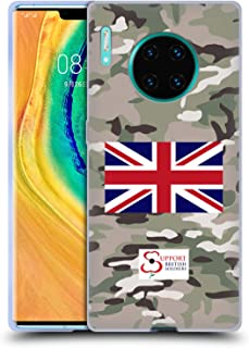 Official Support British Soldiers Multi Terrain Camo Soft Gel Case Compatible for Huawei Mate 30 Pro / 5G