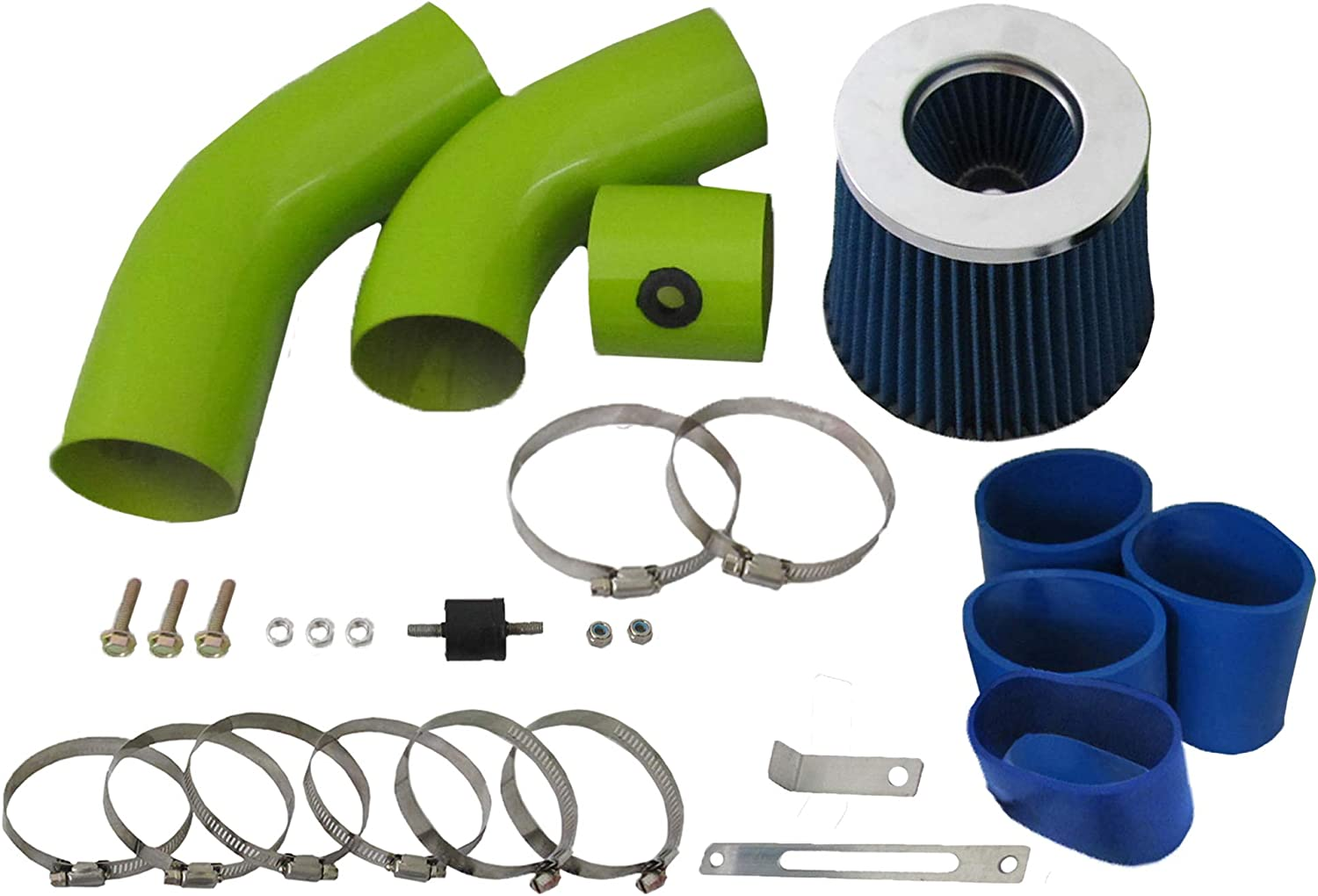 High Performance El Paso Mall Parts Green Pipe Cold Kit Air Blue Fil Max 68% OFF Intake