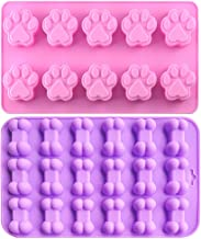 IHUIXINHE Food Grade Silicone Mold, Non-Stick Ice Cube Mold, Jelly, Biscuits, Chocolate, Candy, Cupcake Baking Mould, Muff...