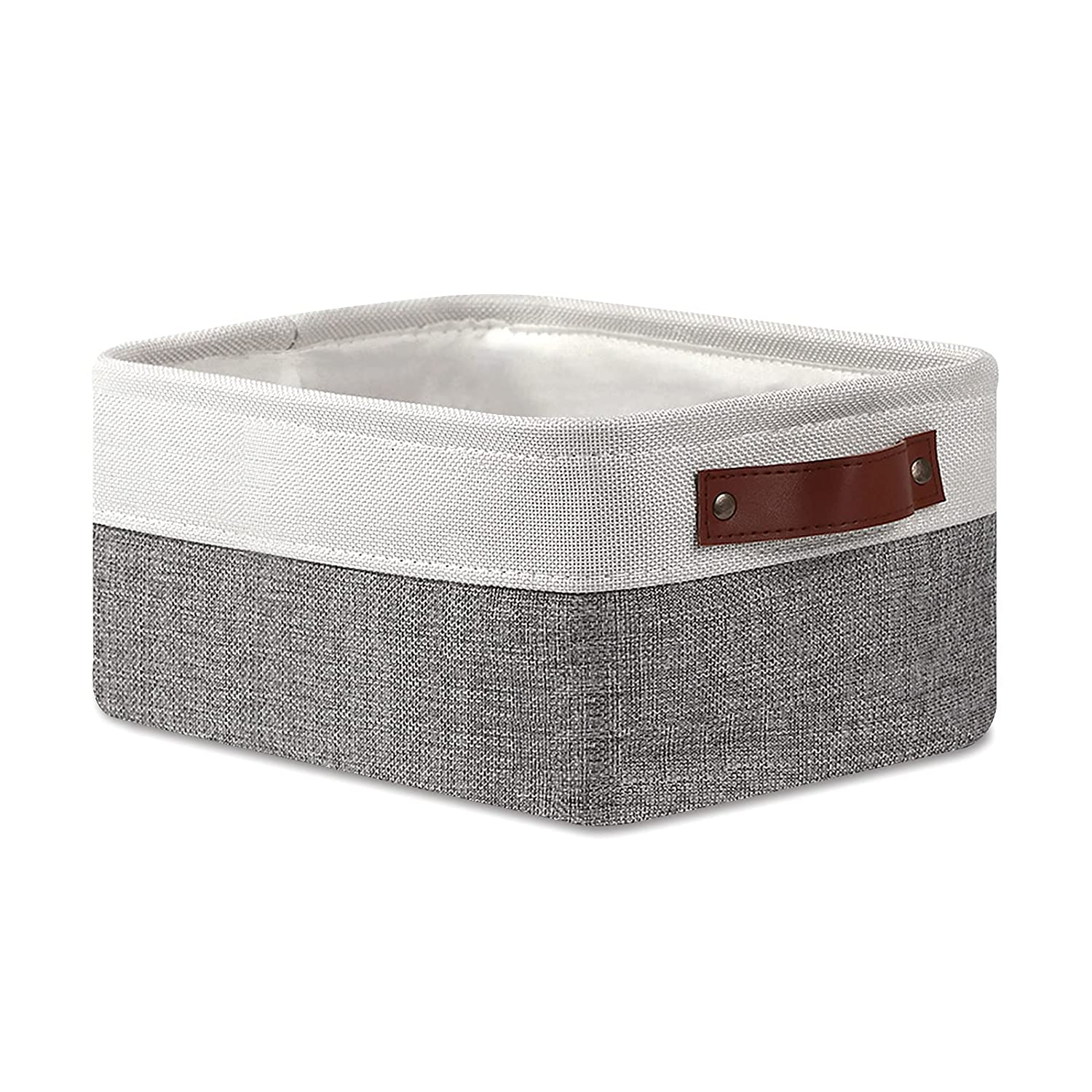 HNZIGE Storage Max 70% OFF Baskets for Fabric Organizing Austin Mall Small