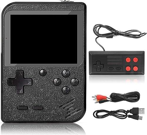 DigitCont Console de Jeu Portable, Retro FC Console de Jeux, avec 500 Classique Jeux FC, 3 Pouces écran Couleur, 1020...