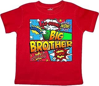 Big Brother Comic Book Toddler T-Shirt