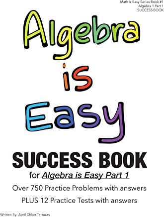 Algebra Is Easy Part 1 Success Book
