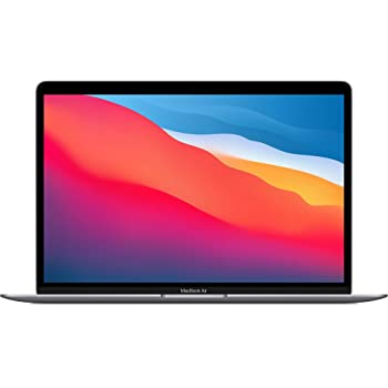 New Apple MacBook Air with Apple M1 Chip (13-inch, 8GB RAM, 256GB SSD Storage) - Space Gray (Latest Model)