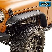 EAG JL Front Fender Flare Steel for 18-19 Jeep Wrangler JL