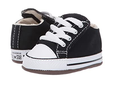 Converse Kids Chuck Taylor All-Star Cribster Gravity Graphic Mid (Infant/Toddler) (Black/Natural Ivory/White) Kids Shoes