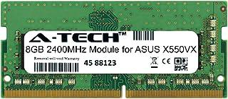 A-Tech 8GB モジュール ASUS X550VX ノートパソコン & ノートブック対応 DDR4 2400Mhz メモリーRAM (ATMS394504A25827X1)