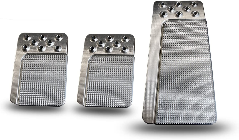 Lokar BAG-6195 Now on sale Throttle Pedal Pad Mail order Edge Aluminum Goosy E Billet