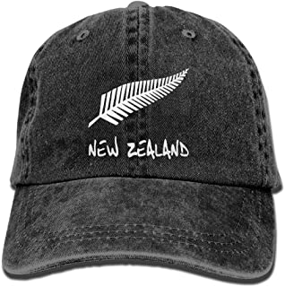 New Zealand Unisex Cotton Denim Hat Washed Retro Dad Cap