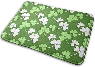 St-Patricks Day Carpet Non-Slip Welcome Front Doormat Entryway Carpet Washable Outdoor Indoor Mat Room Rug 15.7 X 23.6 inch
