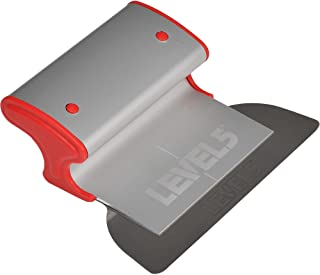 """LEVEL5 7"""" Skimming Blade   Smoothing/Knock-Down Knife   Extruded Aluminum & European Stainless Steel Construction   High-I..."""