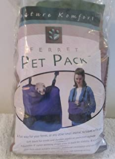 Caddis Kreature Komfort Ferret Pet Pack