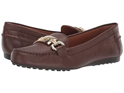 Kate Spade New York Carson (Dark Brown Grain Calf) Women
