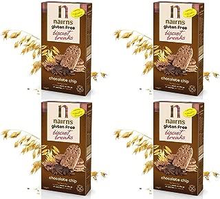 (4 PACK) - Nairns - Gluten Free Chocolate Chip | 12 box | 4 PACK BUNDLE