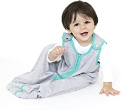baby deedee Sleep Nest Lite Sleeping Bag Sack, Heather Teal, Large (18-36 Months)