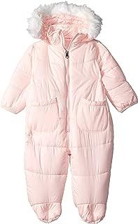 DKNY Baby Girls Pram with Faux Fur Trim