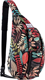 Sling Backpack – Rope Bag Crossbody Backpack Travel Multipurpose Daypacks for Men..