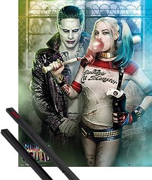 64209 joker Harley Quinn Suicide Squad Superheroes Decor Wall Print POSTER