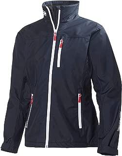 Women's Crew Lightweight Waterproof Windproof Breathable Sailing Rain Coat Jacket