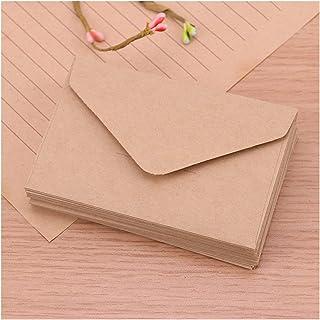 20PCS Black White Craft Paper Envelopes Vintage Style Blank Mini Envelope for Card Scrapbooking Love Letter Gift Supplies ...