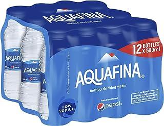 Aquafina Shrink Mineral Water, 12 X 500 ml - Pack of 1