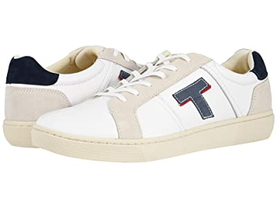 TOMS Leandro (White Smooth Leather) Men