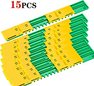 Sunflower Beehive Plastic Entrance Reducer Gate Treated Anti-Escape and Mouse mice Guard (15)
