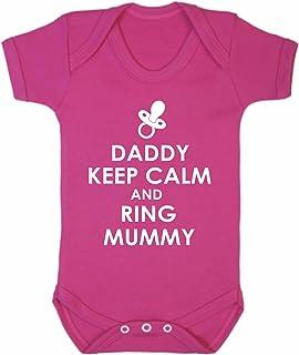 Reality Glitch Daddy Keep Calm Strampler