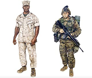 United States Marine Corps (USMC) And Navy Uniform Regulations - Illustrated